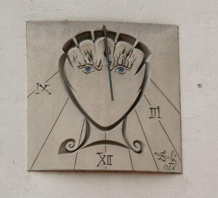 melting clock artist name