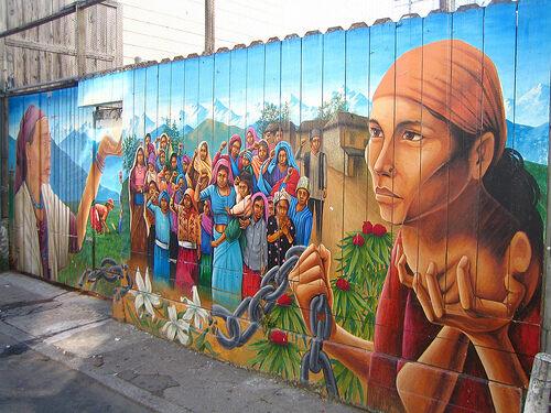 Balmy alley murals san francisco california atlas obscura for Mural meaning