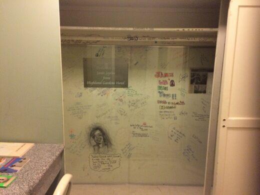Janis Joplin Landmark Hotel Room