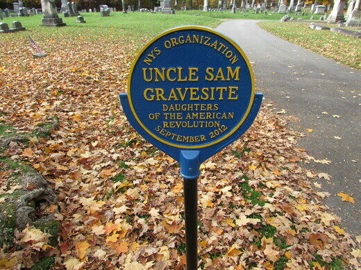 Grave of Uncle Sam – Troy, New York - Atlas Obscura