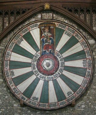 Beau Winchester Round Table. A Medieval Replica Of King Arthuru0027s ...