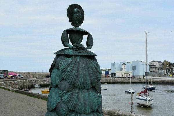 'The Shell Lady of Margate' in Margate, England