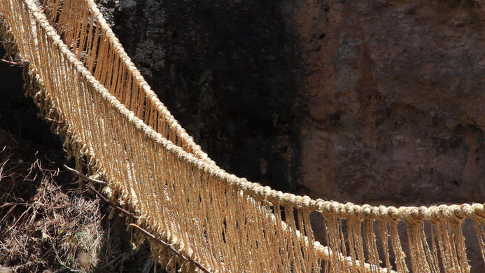 Q Eswachaka Rope Bridge Cusco Peru Atlas Obscura