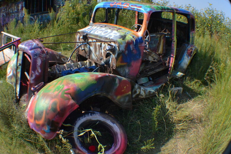VW Slug Bug Ranch – Panhandle, Texas - Atlas Obscura