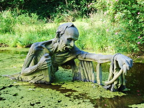 Ferryman Statue, wicklow, Ireland