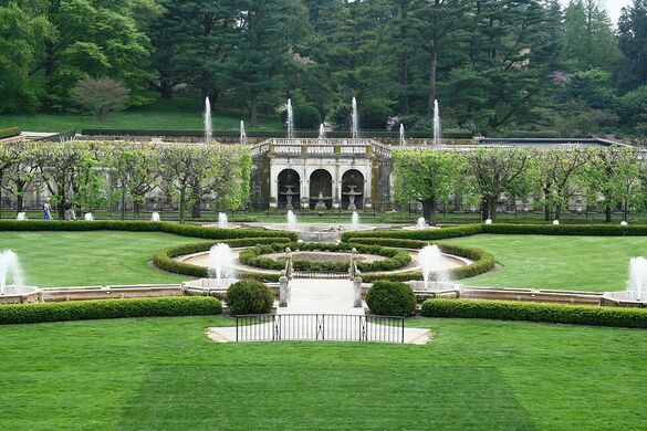Genial Main Fountains At Longwood Gardens. Adornix On Wiki (Creative Commons)