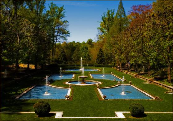 Longwood Gardens Kennett Square Pennsylvania Atlas