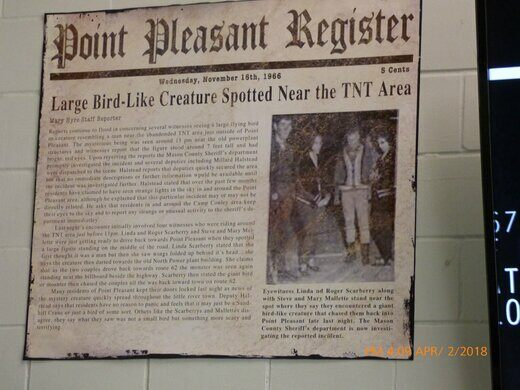 Mothman Museum – Point Pleasant, West Virginia - Atlas Obscura
