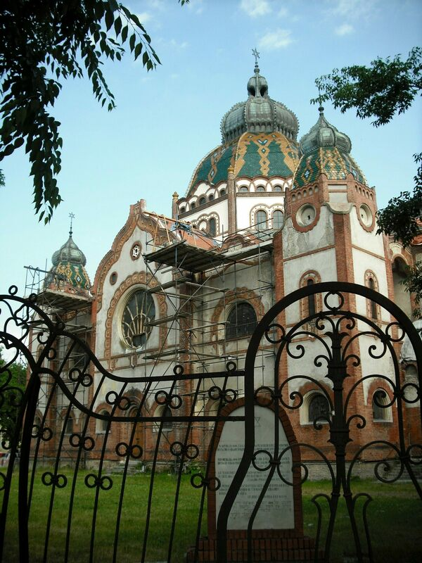 Subotica S Art Nouveau Synagogue Subotica Serbia