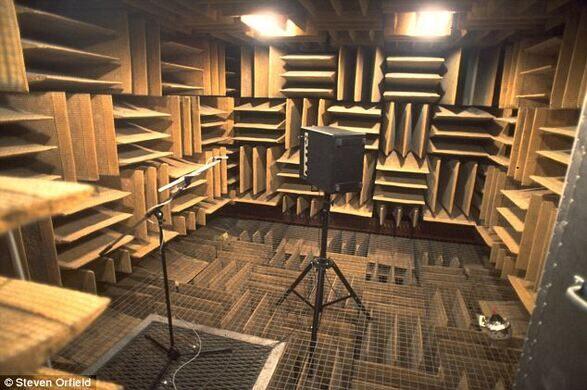 Orfield Labs Quiet Chamber Minneapolis Minnesota
