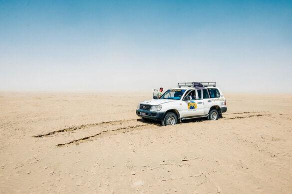 Danau Garam Gurun Sahara