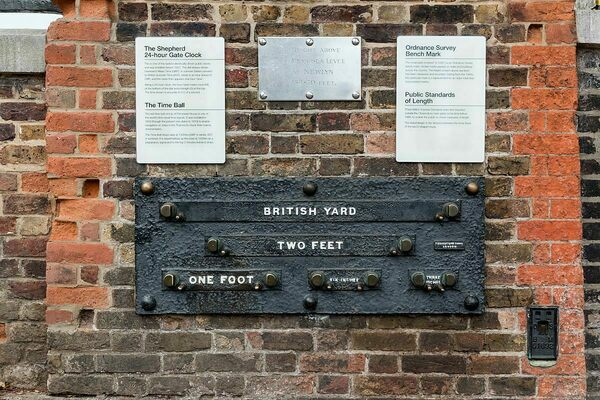 Public Standards of Length – London, England - Atlas Obscura