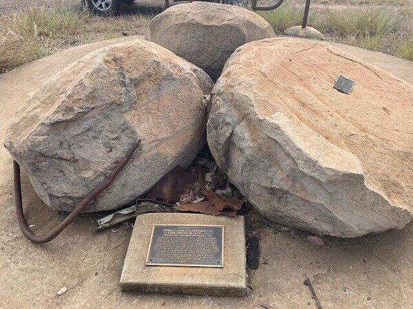 1972 Taroom Truck Explosion Memorial in Coorada, Australia