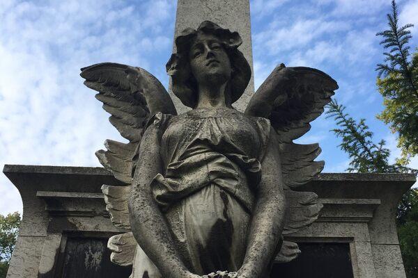 Kerepesi Cemetery in Budapest, Hungary
