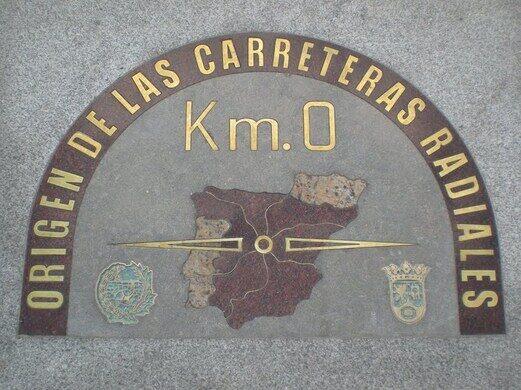 Kilometre Zero – Madrid, Spain - Atlas Obscura