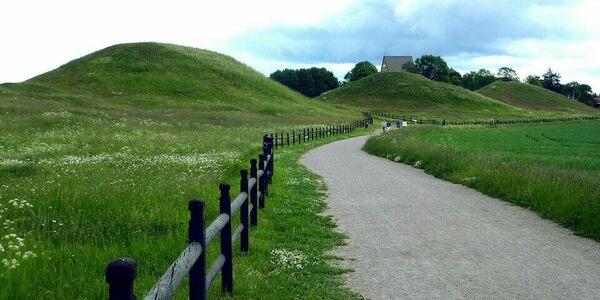 'Thing of all Swedes' Mound in Uppsala, Sweden
