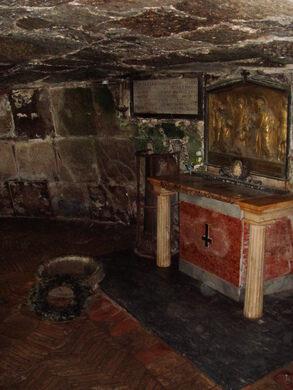 Mamertine Prison Rome Italy Atlas Obscura