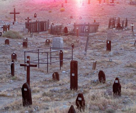 old tonopah cemetery tonopah nevada atlas obscura