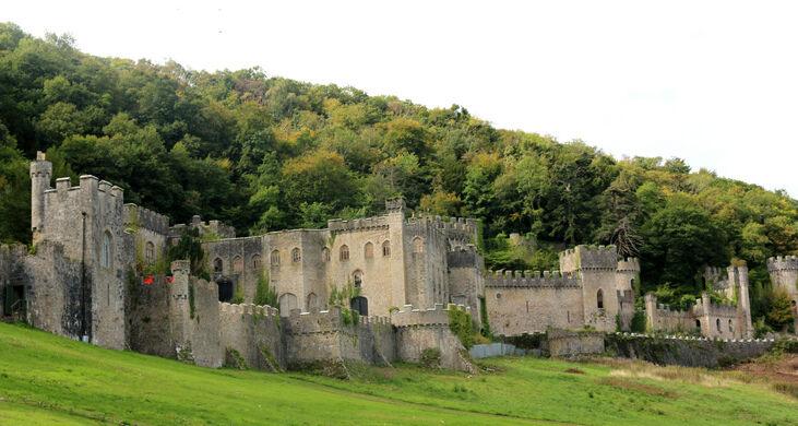 Gwrych Castle Abergele Wales Atlas Obscura