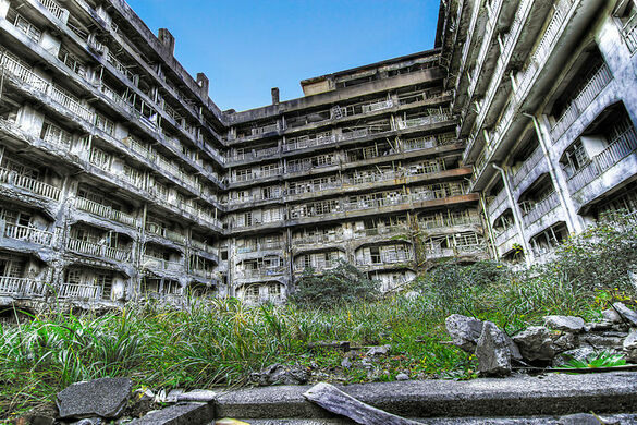 Image result for gunkanjima