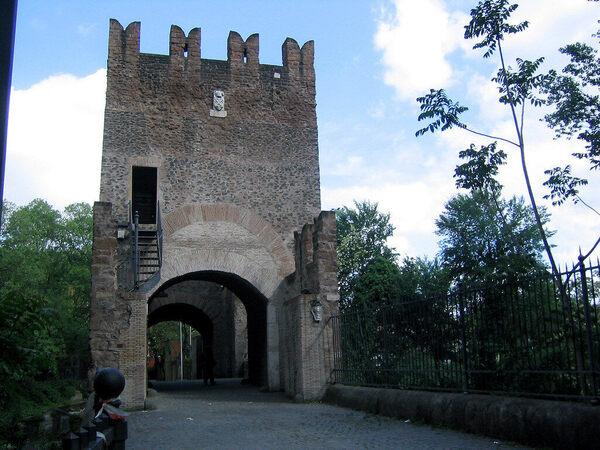 Ponte Nomentano in Rome, Italy