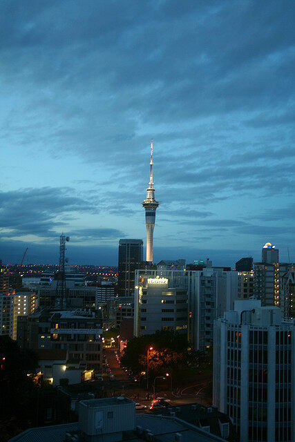Sky Tower – Auckland, New Zealand - Atlas Obscura