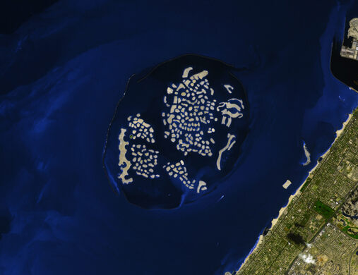 The world islands dubai united arab emirates atlas obscura world islands nasa public domain gumiabroncs Gallery