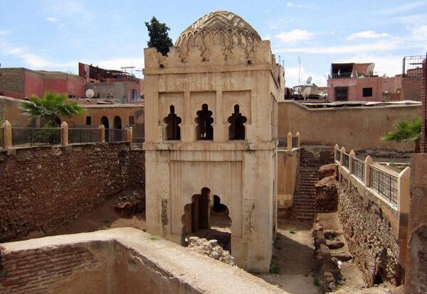Almoravid Koubba in Marrakech, Morocco