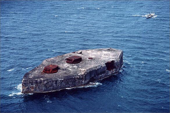 Fort Drum Website >> Fort Drum El Fraile Island Cavite City Philippines Atlas Obscura