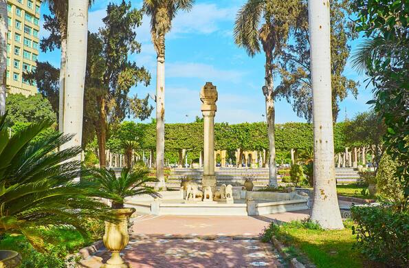 Al Andalus Garden Cairo Egypt Atlas Obscura
