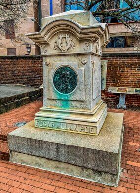 Edgar Allan Poe's Grave – Baltimore, Maryland - Atlas Obscura