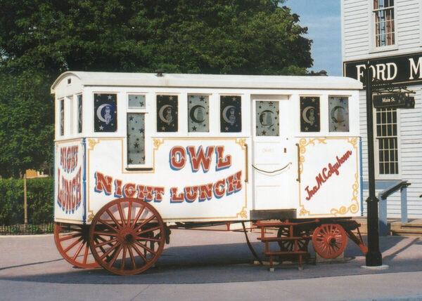 Owl Night Lunch Wagon in Dearborn, Michigan