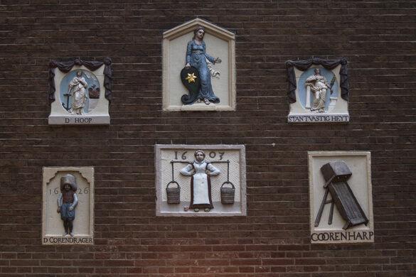 Amsterdam Gable Stones