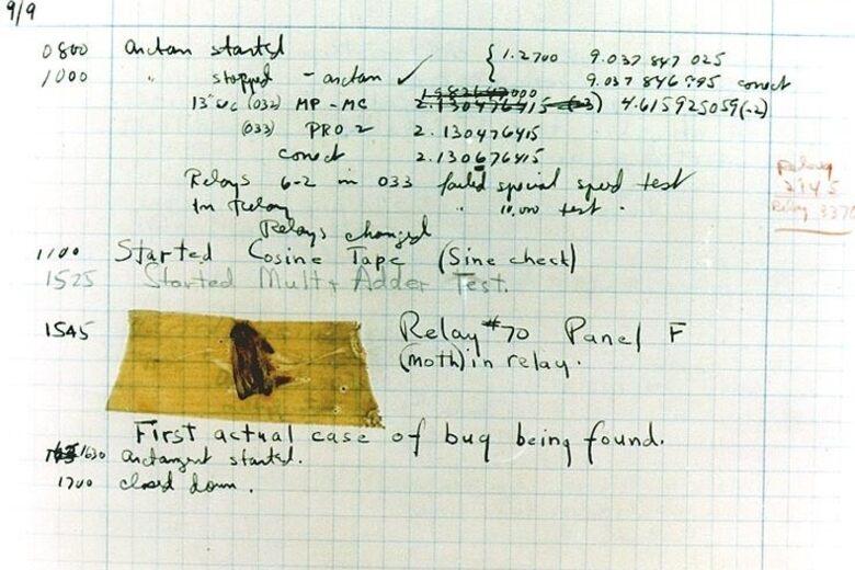 Grace Hopper's Bug – Washington, D C  - Atlas Obscura