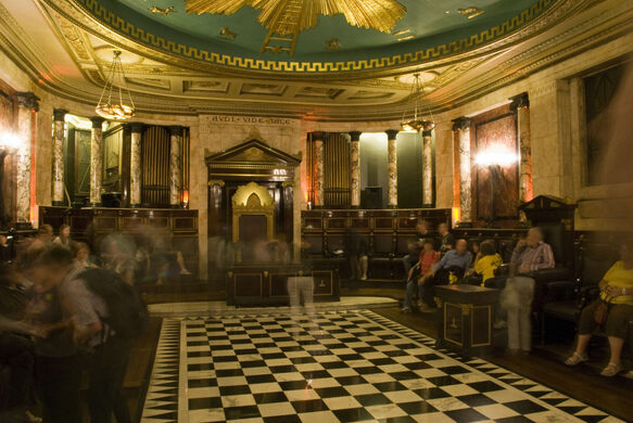 Masonic lodge of the andaz hotel london england atlas obscura tom grinsted some rights reserved by tom grinsted sciox Images