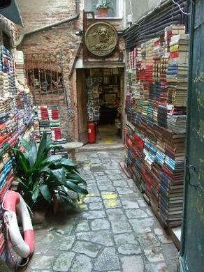Libreria Acqua Alta Venice Italy Atlas Obscura
