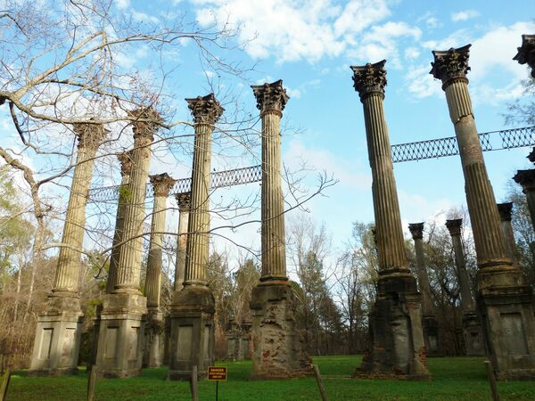 Windsor Ruins Claiborne County Mississippi Atlas Obscura