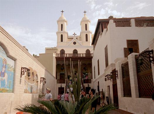 Risultato immagini per Coptic Cairo st simeon church