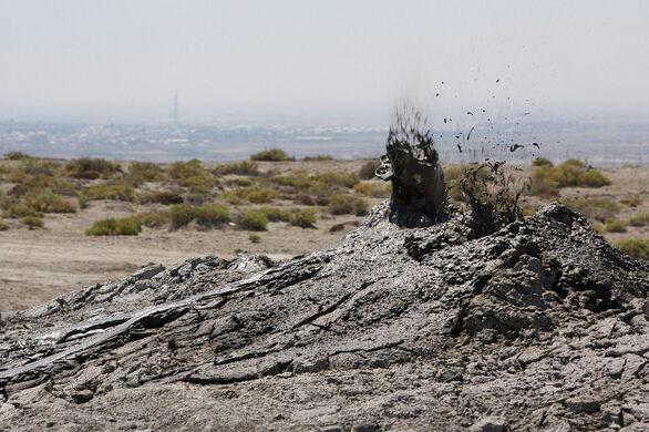 Mud Volcanoes Of Azerbaijan Baku Azerbaijan Atlas Obscura