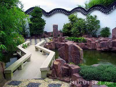 a bridge at the chinese scholars garden bogdan migulskicc by sa 20 - Staten Island Botanical Garden