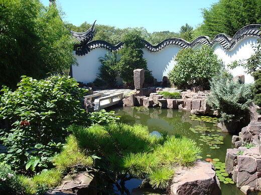 new york chinese scholars garden - Staten Island Botanical Garden