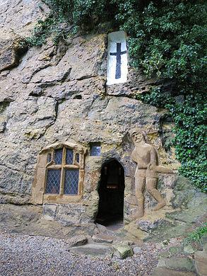 Chapel of Our Lady of the Crag – Knaresborough, England - Atlas Obscura