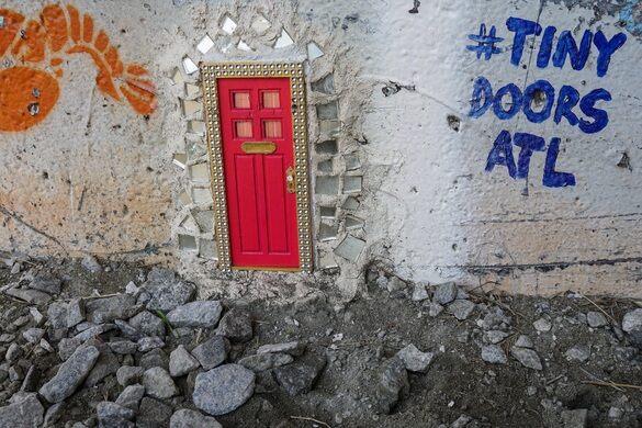 Tiny Doors Atl Atlanta Georgia Atlas Obscura