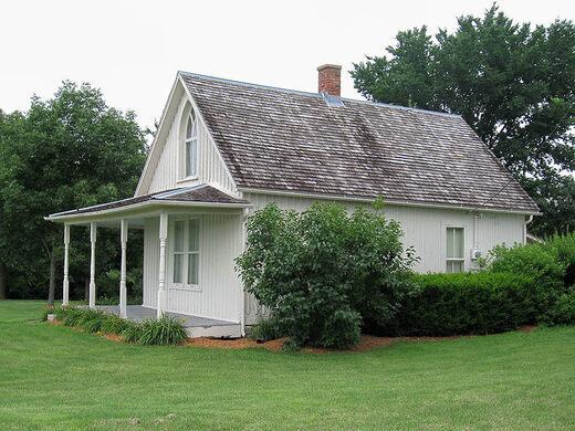 American Gothic House Wikimedia Commons Enwikipediaorg Wiki Goth