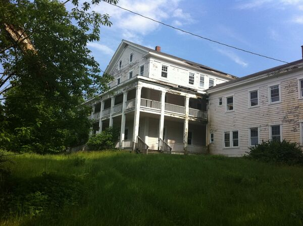 White Lake Mansion House Ruins