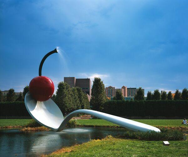 Spoonbridge and Cherry – Minneapolis, Minnesota - Atlas Obscura