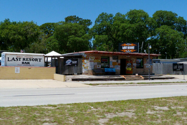 The Last Resort Bar Port Orange Florida Atlas Obscura - The last of us lake resort map