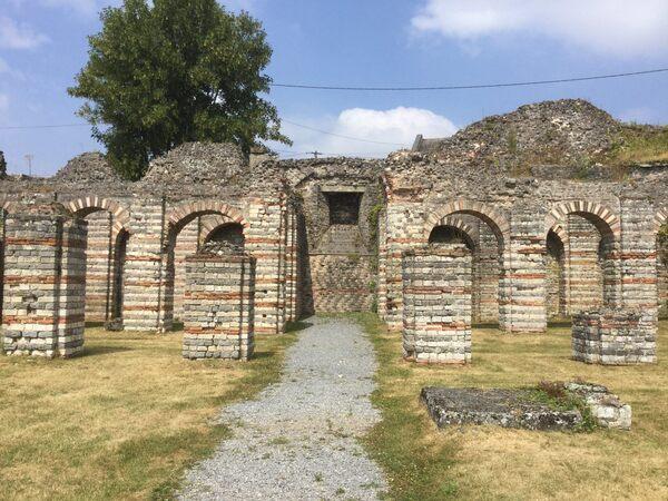 bavay ancient forum bavay france atlas obscura