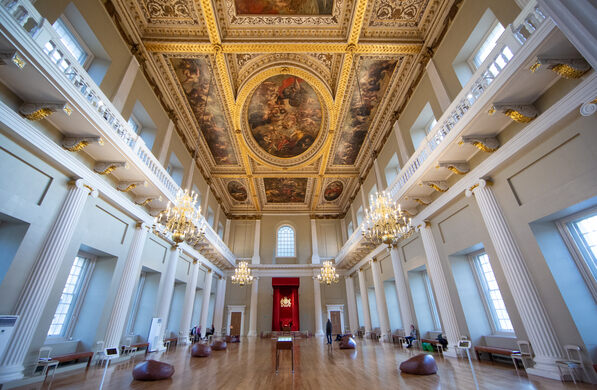 Rubens Ceiling At The Banqueting House London England Atlas Obscura