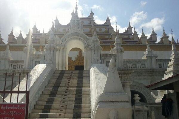 Atumashi Monastery  in Mandalay, Myanmar (Burma)